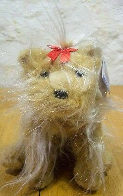 """Animal Alley YORKSHIRE TERRIER DOG 10"""" Plush Toy NEW"""