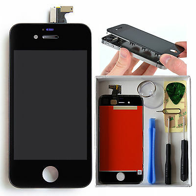 Replacement LCD Touch Screen Digitizer Glass Assembly for iPhone 4 AT&T GSM OEM