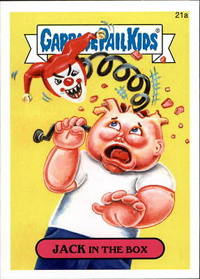 2015 Garbage Pail Kids Series One #21a Jack in the Box - NM-MT