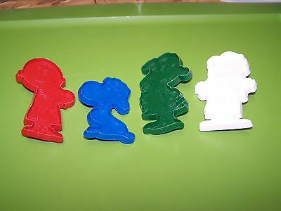Charlie Brown Snoopy Lunis and Lucy Peanuts Cookie Cutters from Hallmark