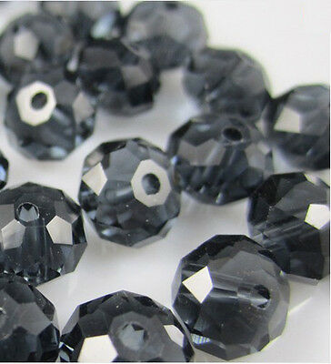 NEW DIY Jewelry Faceted 100pcs Rondelle crystal #5040 3x4mm Beads Ink blue color