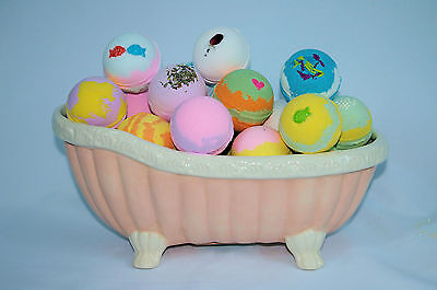 Bath Bomb Fizzy 14 Pack of Fizzies 2.5oz. Assorted Scents & Colors  lot.