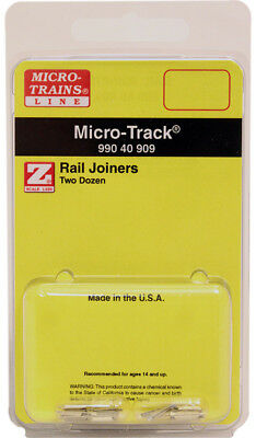 Micro-Trains MTL Z-Scale Micro-Track - Track Rail Joiners (24pk)