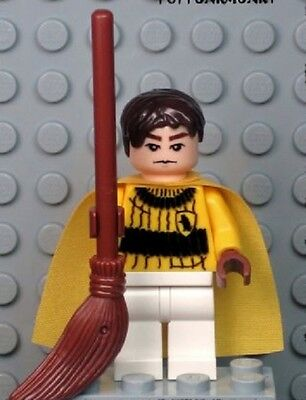 MB197 New Lego CUSTOM INSPIRED CEDRIC DIGGORY QUIDDITCH MINIFIG Harry Potter