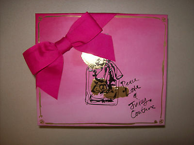 JUICY COUTURE PEACE LOVE AND JUICY COUTURE GIFT SET LOTION PERFUME LARGER SIZES