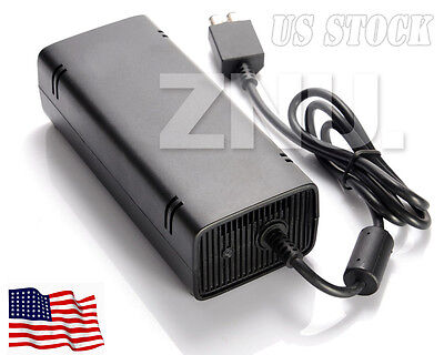 NEW FOR Microsoft XBox360 Charger Power Supply Brick AC Adapter Cord US Plug ZNU