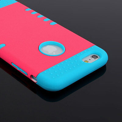 """New Rose 3 IN 1 Silicon Gel Rubber Skin Case Cover For Apple iPhone 6 Plus 5.5"""""""