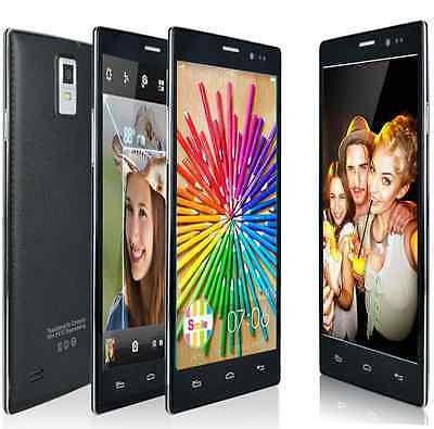 """Unlocked 5.5"""" Android 4.4 2Core GPS Wifi T-mobile GSM/WCDMA 3G Smart Cell Phone"""