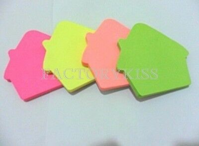 House Sticker Post-it Book Marker Memo Sticky Note Paper Stationery WWT