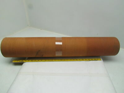 "3-Ply Black Rubber Rough Top Incline Conveyor Belt 35-1/8"" Wide 60"" Long (5')"