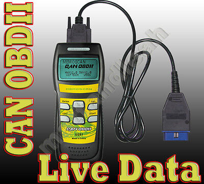 OBD 2 CAN AUTO LIVE TROUBLE CODE READER SCANNER OBD II RESET CHECK ENGINE LIGHT