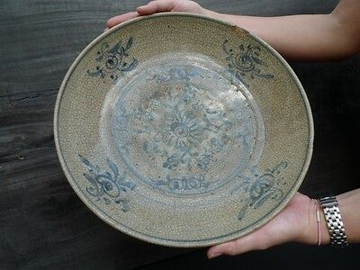 AUTHENTIC MING DYNASTY (1368-1644) DISH / PLATE  Great Ming AGE 500yrs Artifact