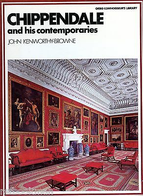 Antique Chippendale Furniture incl. Period Contemporary Makers / Scarce Book
