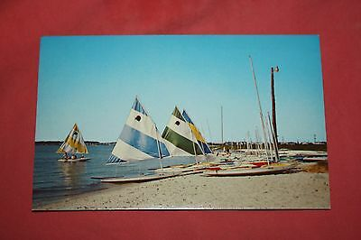 Vintage Postcard A Delightful Day On Rehoboth Bay On Delaware's Beautiful Coast