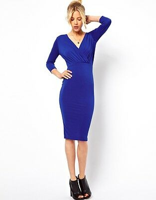 New Women Sexy Fashion Slim Bodycon Party Evening casual Dress M