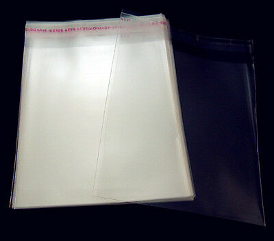 Free Lots AAA 200PCS Clear Self Adhesive Plastic Bags Bulk Package 60mmx90mm