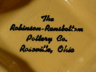 Vintage The Robinson Ransbottom Pottery Co Advertising Ashtray