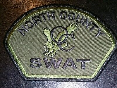 North County California CA Police patch SWAT