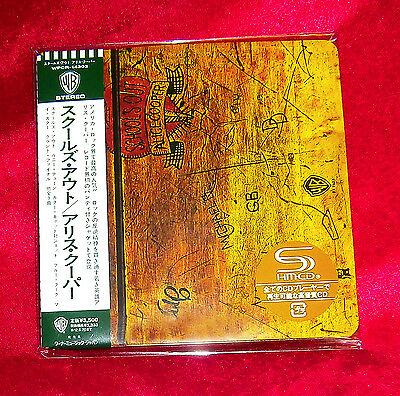 ALICE COOPER School's Out JAPAN AUTHENTIC SHM MINI LP CD NEW OOP RARE WPCR-14303