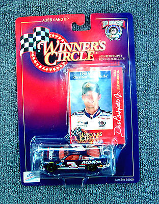 1998 DALE EARNHARDT JR. 1/64 SCALE WINNERS CIRCLE 1998 #3 AC DELCO CAR NIP