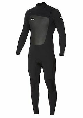 Quiksilver Syncro 4/3 Chest Zip Fullsuit men's sizes L, XL - wetsuit new NWT