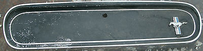 1965 65 1966 66 Ford Mustang Shelby Pony Emblem Glove Box Door Panel Chrome OEM