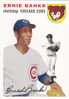 Ernie Banks 2006 Topps Rookie of the Week Topps Rookie reprint