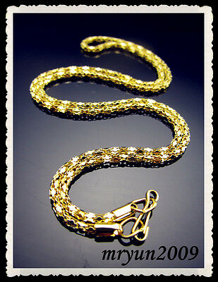 """FREE LOT 20pcs Jewelry Design gold plate snake chain Pendants Necklace Clasp 21"""""""
