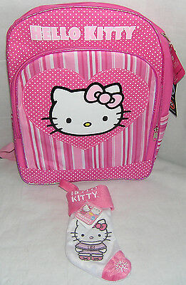 Hello Kitty BACKPACK PINK FULL SIZE NICE GIFT FREE SHIPPING NWT