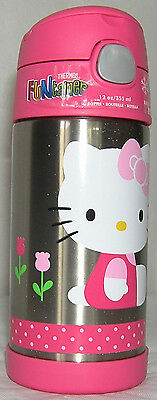 Hello Kitty THERMOS FUNtainer Beverage Bottle NICE GIFT FREE USA SHIPPING