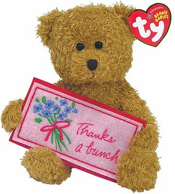 Ty Thanks a Bunch - Brown Bear