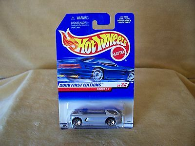 1/64 DIE CAST  HOT WHEELS 2000 FIRST EDITION #5/36 DEORA 11 PICK UP CARD #065