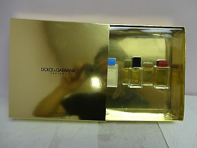 Light Blue, D&G Women,  Sicily  by Dolce &Gabbana 0.44 oz  SET New Boxed