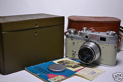 FED 3 (type A) White body in BOX Russian 35mm Rangefinder Camera