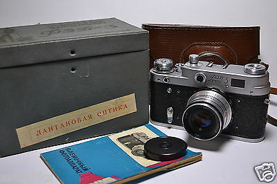 FED 3 (type A) in BOX Russian 35mm Rangefinder Camera