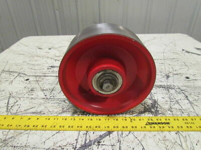 "10""X4"" Ductile Steel Caster Wheel Tapered Bearings 15000 Lb Capacity"