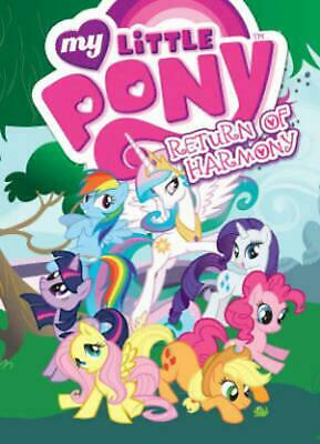My Little Pony Return of Harmony by Mitch Larson (English) Paperback Book Free S