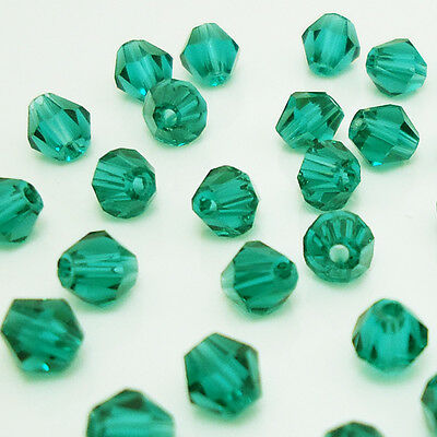 Free shipping jewelry 100pcs Swarovski  Crystal 4mm #5301 bicone beads  B:27