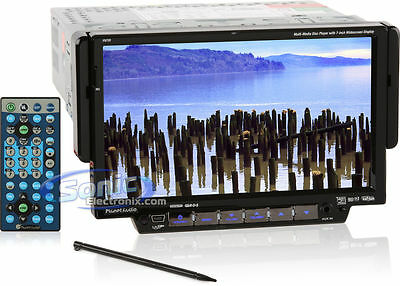 """Refurbished Planet Audio P9720 7"""" DVD/MP3 Touchscreen Car Stereo Radio Receiver"""