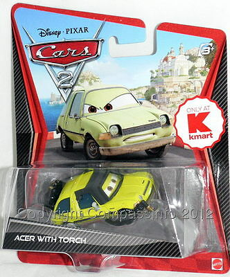 New Disney Pixar CARS 2 ACER WITH TORCH