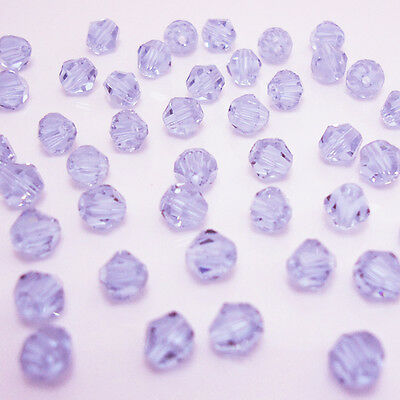 Free shipping jewelry 100pcs Swarovski  Crystal 4mm #5301 bicone beads  B:12