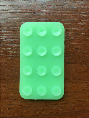 Green PVC Plastic Magic Double Sided Sticker Sucker Suction Cup for phone
