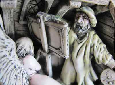 """***Picturesque Tile Harmony Kingdom Wimberley Tales  """"The Artist""""  in Box ***"""