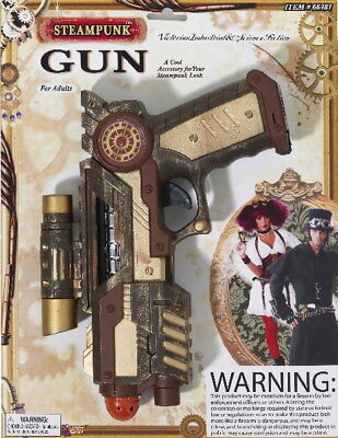 SteamPunk Cosplay Victorian Space Gun Costume Prop NEW UNUSED