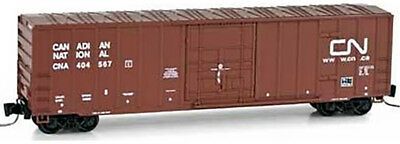 Micro-Trains MTL Z-Scale 50ft Rib Side Box Car Canadian National/CN #404567