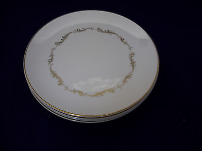 "Royal Doulton FRENCH PROVINCIAL 6-8 1/4"" Salad Dessert Plates Bone China England"