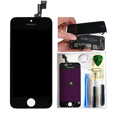 LCD Display Touch Screen Digitizer Assembly Replacement for iPhone 5S Black New