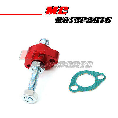 Red CNC Manual Cam Chain Tensioner For Honda CBR900RR 93 94 95 96 97 98 99