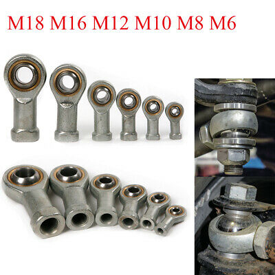 Fish Eye Joint Rod End Bearing/Heim Joint Right Hand M6 8 M10 M12 M16 M18 Female
