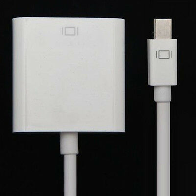Mini DP DisplayPort Thunderbolt to VGA Adapter Cable For Apple MacBook Pro Air